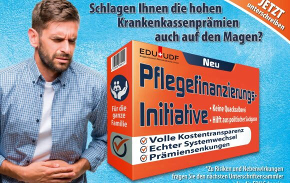 Pflegefinanzierungs-Initiative lanciert